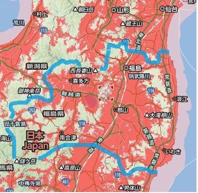 福島県全体