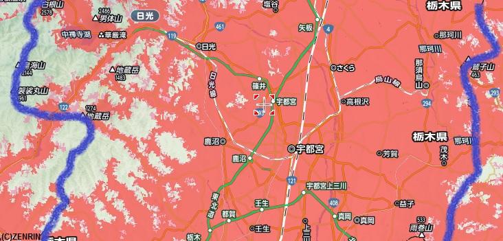 栃木県SBエリア中央