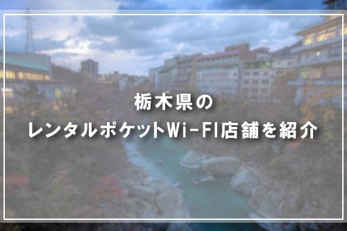 栃木県のレンタルポケットWi-FI店舗を紹介