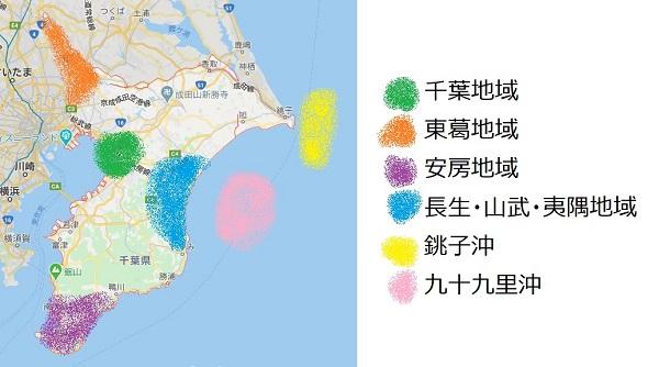 農業と漁業が盛んな地域