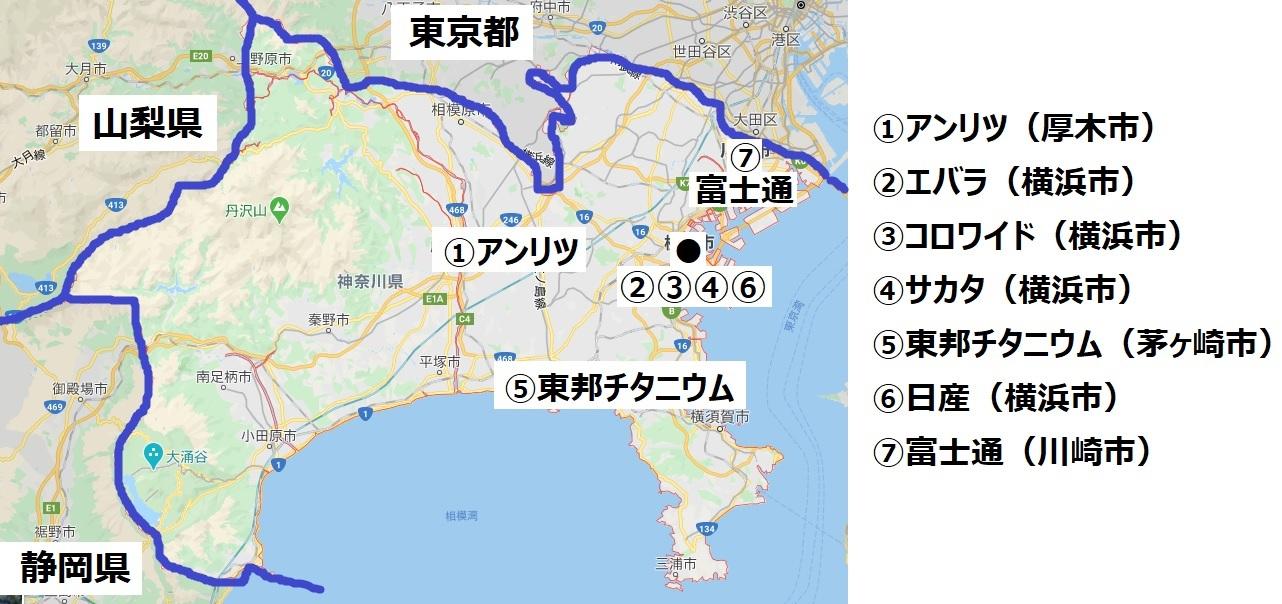 神奈川企業