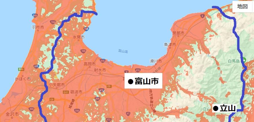 富山県北部