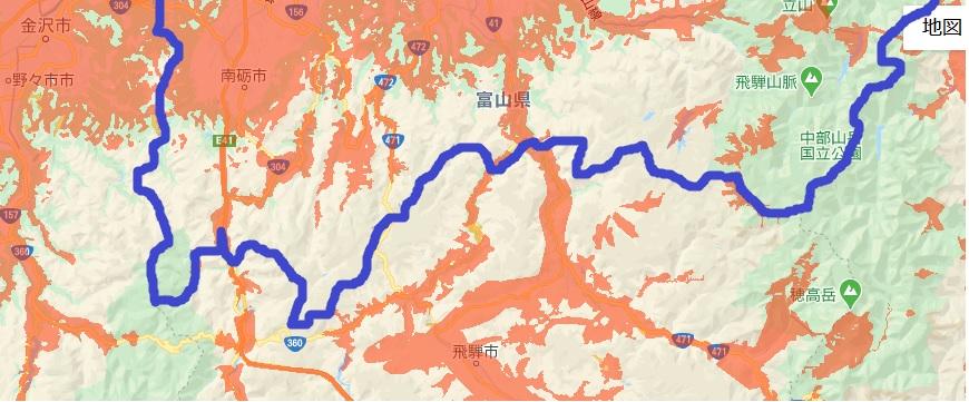 富山県南部