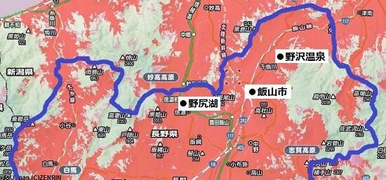 長野県北部エリア