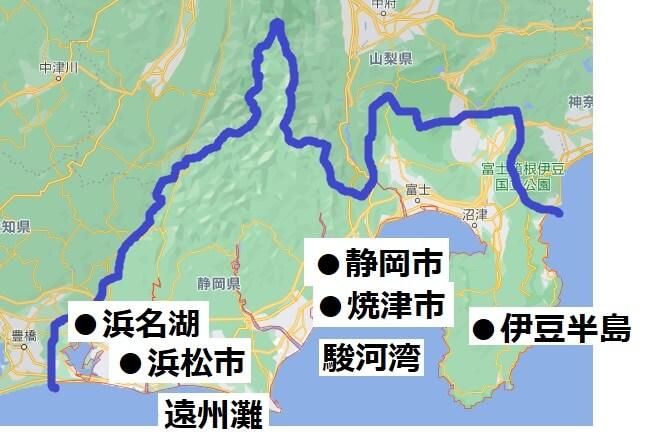 静岡県の経済地図