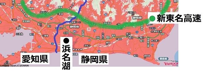 静岡県南部エリア浜名湖周辺