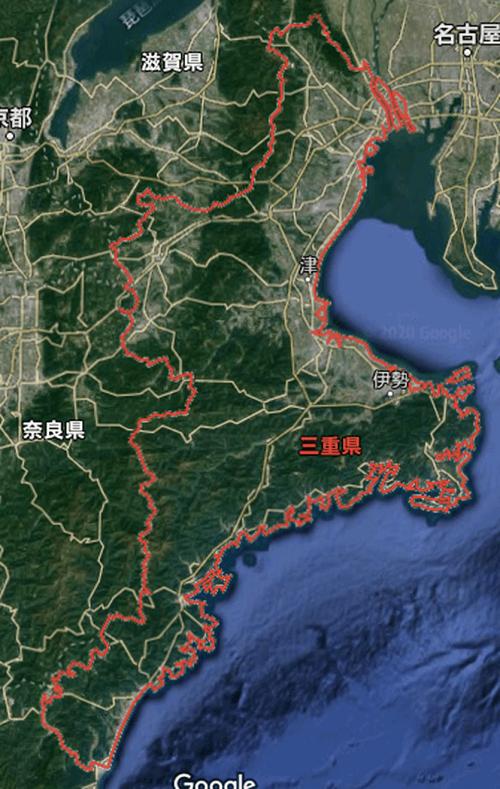 三重県の航空写真