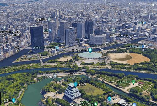 大阪城とその周辺