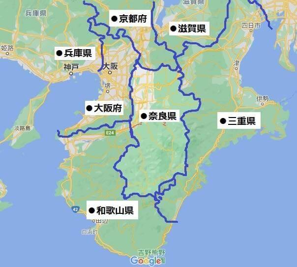 関西の中心地