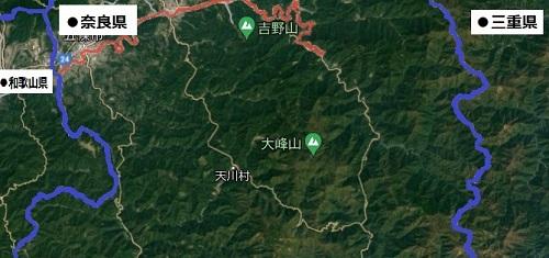 奈良南中部の航空写真