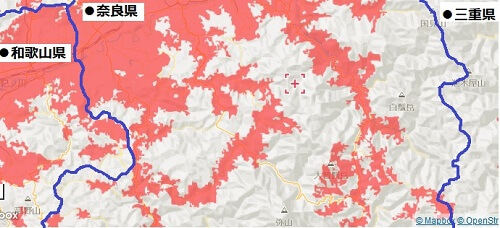 奈良南中部エリアマップ