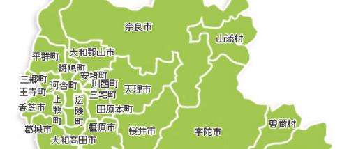 奈良の産地マップ2